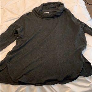 Lou & Grey dark charcoal tunic